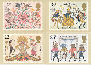 GB POSTCARDS PHQ CARDS MINT NO. 49 1981 FOLKLORE 10% OFF 5