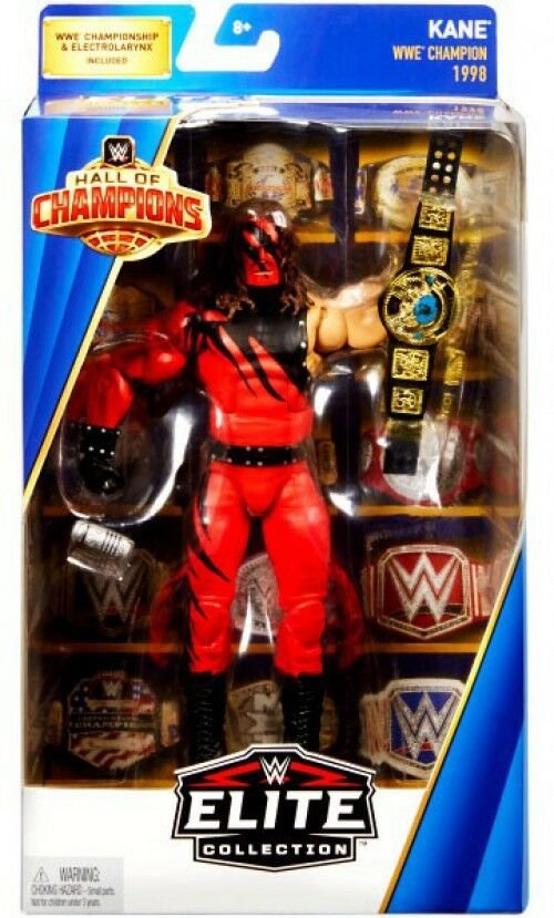 WWE Wrestling Elite Hall of Champions Kane Exclusive Action Figure