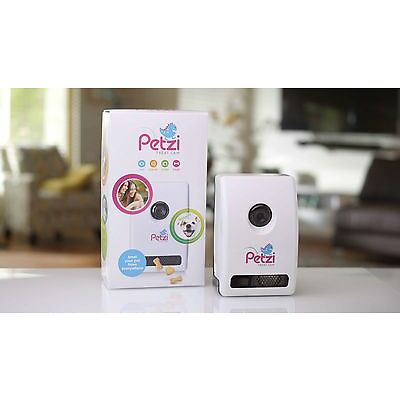 Petzi Treat Cam - App-Controlled WiFi Pet Monitor Treat Dispenser Camera System