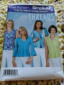 THREADS Choose Your Pattern! Misses UNCUT Many SIMPLICITY