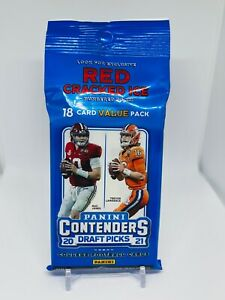 2021 Panini Contenders Draft Picks Football Fat Pack Cello Brand New Sealed