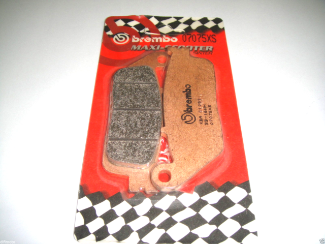 Rear Brake Pads BREMBO Sinter 07075XS Kymco Xciting AF1 ABS 500 2008