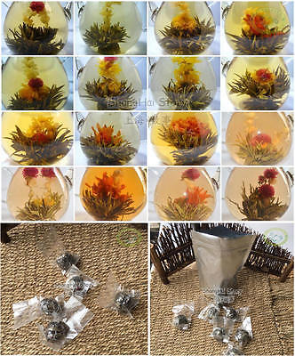 Wholesale 120pcs Organic Blooming Flower Green Tea Vacuum Individual Packing