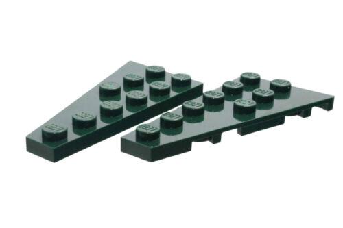 54383 54384 LEGO ® 1 paire Vert Foncé/darkgreen 3x6 Plaques Ailes 6003988 6003994