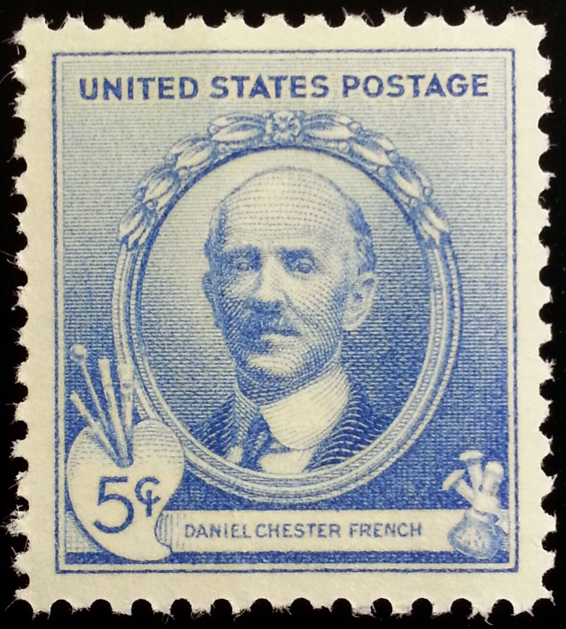 1940 5c Daniel Chester French Acclaimed American Sculpt