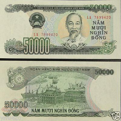 Vietnam BANKNOTE 50000 Dong 1994 UNC