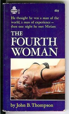 THE FOURTH WOMAN by John B. Thompson, rare US Midwood sleaze gga pulp vintage pb