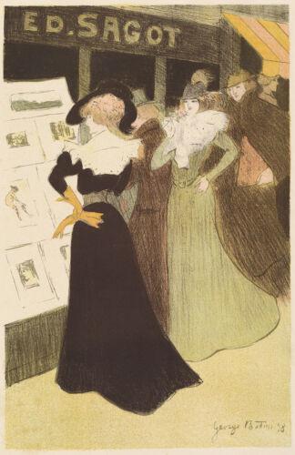 Fine Art Print Georges Bottini Reproduction The Sagot Dress