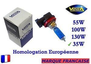 """► Ampoule Xénon VEGA® """"DAY LIGHT"""" Marque Française H8 35W 5000K Auto Phare ◄"""