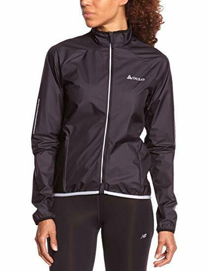 Odlo Women's 211 Flyweight Wind Stopper Cycling Jacket - Black, Large
