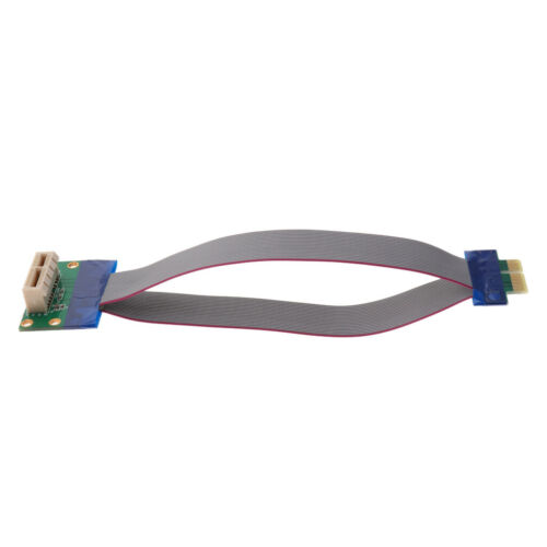 PCIe PCI-Express 1X Riser Card Extension Flexible Cord for Desktop Computer