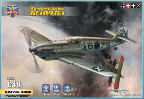 6 Décos MESSERSCHMITT Bf-109 D-1 MODELSVIT PLASTIC KIT 1//48