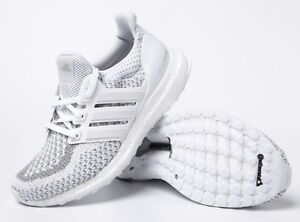 3678096786e86 Adidas Men ULTRA BOOST Shoes Running Training White Casual Sneakers ...