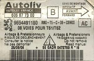 Calculateur-d-air-bag-AUTOLIV-Peugeot-307-9654491180-606877300