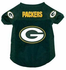 NEW-GREEN-BAY-PACKERS-PET-DOG-MESH-FOOTBALL-JERSEY-ALL-SIZES-ALTERNATE-STYLE