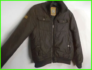 detailed look 81c70 846dd Details about S * Brown Bomber Jacket Blend Company America High Collar  Winter, Autumn, Spring