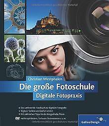 Die-grosse-Fotoschule-Digitale-Fotopraxis-Galileo-Desig-Buch-Zustand-gut