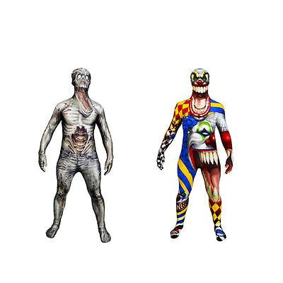 Umorismo Spaventosa Holloween Fancy Dress Costume. Morphsuit, Zombie, Spaventose Clown-mostra Il Titolo Originale