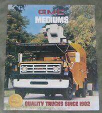 Gmc de peso medio camiones folleto (usa)