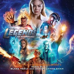 Details about DC's LEGENDS OF TOMORROW Season 3 TV Blake Neely LA-LA LAND  CD SOUNDTRACK Score