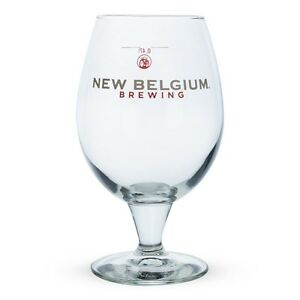 New-Belgium-Brewing-Co-Belgian-Beer-Glass-16-oz-Belgian-Bar-amp-Pub-Drinkware