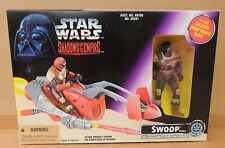 Figurine Star Wars. SWOOP. Shadows of the Empire. KENNER 1996. avec pilote