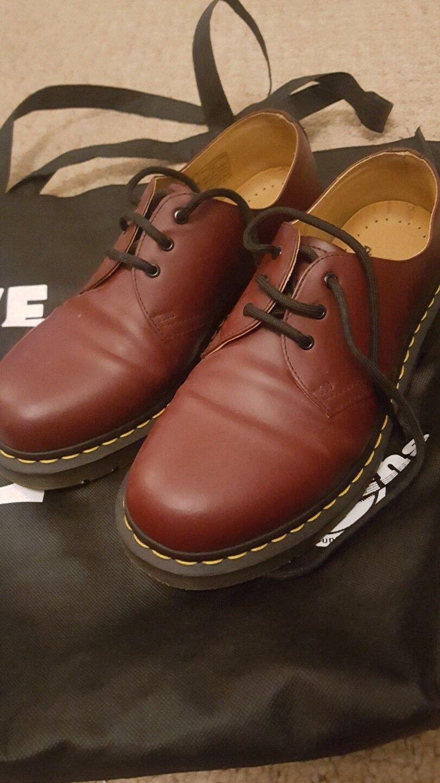 Hombre dr martens Zapatos 7 Zapatos. cherry Rojo punk skinhead Zapatos. 7 d3092c