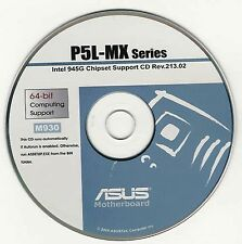 ASUS P5L-MX P5PL2 P5LD2-SE P5LD2E or P5LD2 Motherboard Drivers Install Disk M930