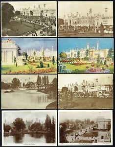 1924-British-Empire-Exhibition-Wembley-India-8-x-Postcard-G644
