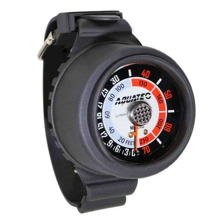 Aquatec FreeDive Console Depth Gauge Watch For Scuba Diving Spearfishing DG-750