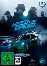 PC Computer Spiel Need for Speed 2016 (neuster Teil) DVD Versand NEUWARE