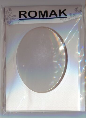 Quilling Domed Cards 3-pk Pick Circle Oval 4x6 Tri-Fold With Plastic Dome NEW