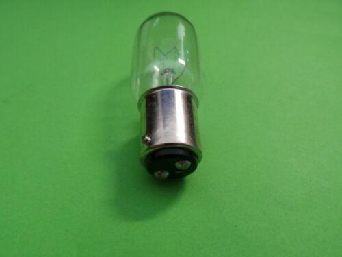 Ampoule Socle D/'Enfichage B15 en Vrac Pièce 5 X Machine à Coudre Ampoule