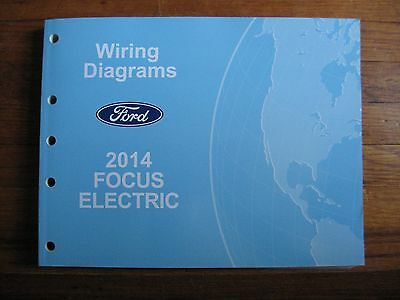 2014 Ford Focus Electric Electrical Wiring Diagram Service