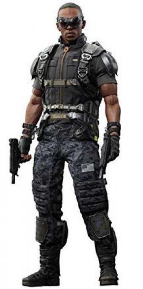 Captain America The Winter Soldier Movie Masterpiece Falcon Collectible Figure
