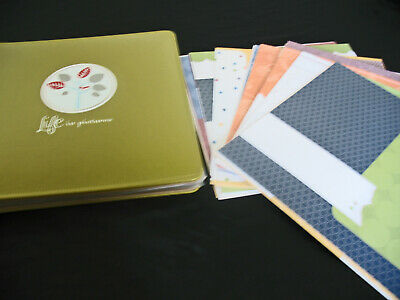 Creative Memories Family 12x12 PicFolio Quik Kit pages no stickers die-cuts