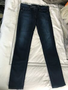 Adriano-Goldschmied-The-LEGGING-Super-SKINNY-30R-30-x-30-Rich-Dark-Blue-Jeans