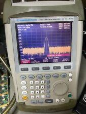 Used Rohde Amp Schwarz Fsh3 3 Ghz Spectrum Analyzer Preamp K1 K3