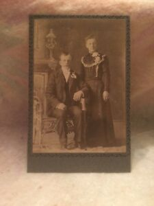 Antique-Victorian-Wedding-Cabinet-Mounted-Photograph