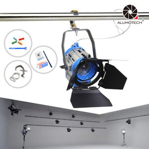 300W Fresnel Tungsten Spotlight Lighting Video Studio+Bulb For Film Camera Video