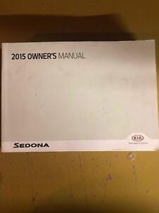 kia sedona manual 2015