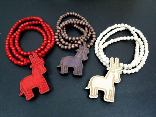 Giraffa Nouveau Hip-hop fashion Good Wood NYC collier