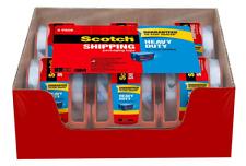 Scotch 142 6 6 Rolls Heavy Duty Shipping Packaging Tape 188 Inch X 800 Inch