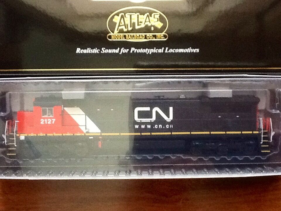 ATLAS  HO 1 87 DCC CANADIAN CANADIAN CANADIAN NATIONAL DASH 8-40C strada   2127 F S   10001245 F S 40fc80