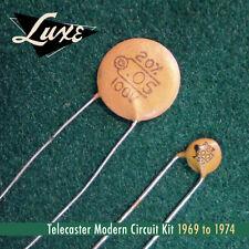 Luxe1969-1974 TELECASTER MODERN Schematic KIT .05mf & .001m for fender guitars