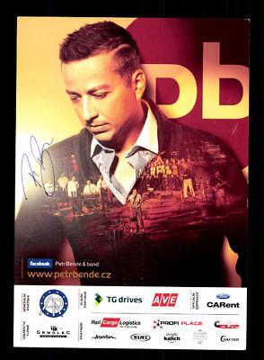Petr Bende Und Band Autogrammkarte Original Signiert # Bc 115636 Billigverkauf 50% Original, Nicht Zertifiziert