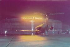 COURT LINE BAC 1-11 G-AXMG night image Luton Airport - 6 x 4 Print