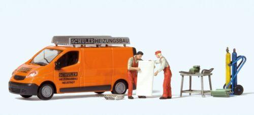 Preiser 33259 H0 Opel Vivaro Schuler Heizung