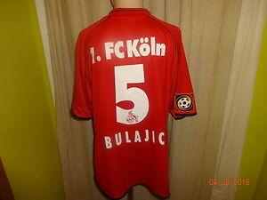 1-FC-Koeln-Puma-Matchworn-Trikot-01-02-034-VPV-Versicherungen-034-Nr-5-Bulajic-Gr-XXL