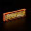 LED Screen 4 Letters Bluetooth Neon USB Display Badge Scrolling Font